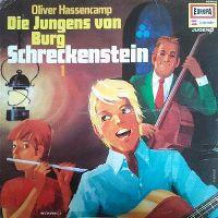 Cover Hörspiel - Die Jungens von Burg Schreckenstein