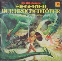 Cover Hörspiel - Die Nibelungen - Siegfried der Drachentöter