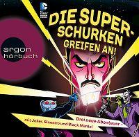 Cover Hörspiel - Die Super-Schurken greifen an!