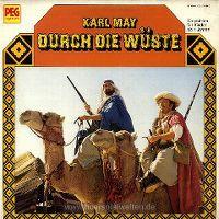 Cover Hörspiel - Durch die Wüste