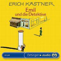 Cover Hörspiel - Erich Kästner: Emil und die Detektive