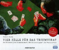 Cover Hörspiel - Gisbert Haefs: Vier Fälle für das Triumvirat