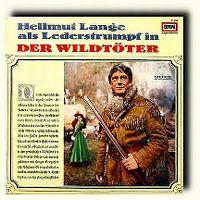 Cover Hörspiel - Hellmut Lange als Lederstrumpf in 'Der Wildtöter'