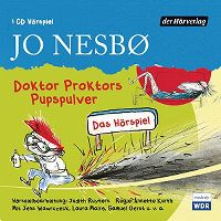 Cover Hörspiel - Jo Nesbø: Doktor Proktors Pupspulver