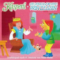 Cover Hörspiel - Kasperli + die verschwundeni Prinzessin