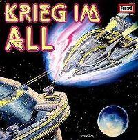 Cover Hörspiel - Krieg im All