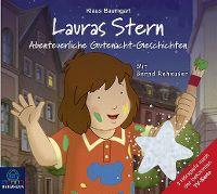 Cover Hörspiel - Lauras Stern - Abenteuerliche Gutenacht-Geschichten