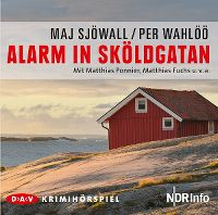 Cover Hörspiel - Maj Sjöwall / Per Wahlöö: Alarm in Sköldgatan