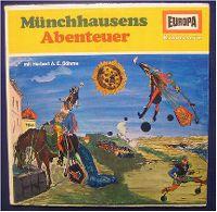 Cover Hörspiel - Münchhausens Abenteuer