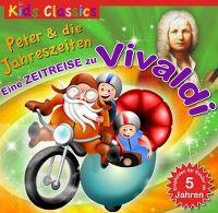 Cover Hörspiel - Peter & die Jahreszeiten - Eine Zeitreise zu Vivaldi