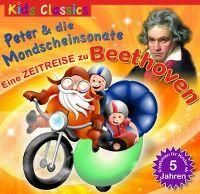 Cover Hörspiel - Peter & die Mondscheinsonate - Eine Zeitreise zu Beethoven