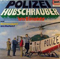 Cover Hörspiel - Polizeihubschrauber im Einsatz