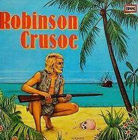 Cover Hörspiel - Robinson Crusoe