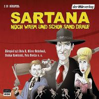 Cover Hörspiel - Sartana - Noch warm und schon Sand drauf