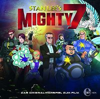 Cover Hörspiel - Stan Lee's Mighty 7