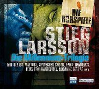 Cover Hörspiel - Stieg Larsson: Die Millennium-Trilogie