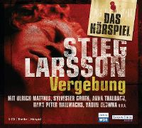 Cover Hörspiel - Stieg Larsson: Vergebung