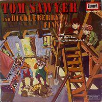 Cover Hörspiel - Tom Sawyer und Huckleberry Finn 2. Folge - Auf gefährlicher Entdeckungsfahrt