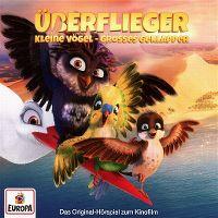 Cover Hörspiel - Überflieger - Kleine Vögel - grosses Geklapper