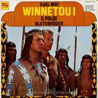 Cover Hörspiel - Winnetou I - 2. Folge: Blutsbrüder