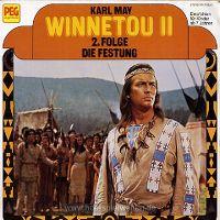 Cover Hörspiel - Winnetou II - 2. Folge: Die Festung