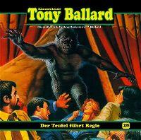 Cover Hörspiel / Dämonenhasser Tony Ballard - 28. Der Teufel führt Regie