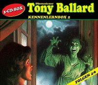 Cover Hörspiel / Dämonenhasser Tony Ballard - Kennenlernbox 2
