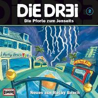 Cover Hörspiel / Die DR3I - Neues aus Rocky Beach: 002. Die Pforte zum Jenseits