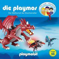 Cover Hörspiel / Die Playmos - 58. Der Wettkampf der Drachenreiter