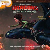 Cover Hörspiel / Dragons - Die Reiter von Berk - 16. Feuer-Wetter