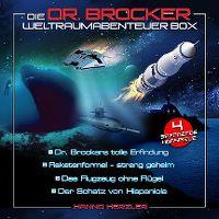Cover Hörspiel / Hanno Herzler - Die Dr. Brocker Weltraumabenteuer Box