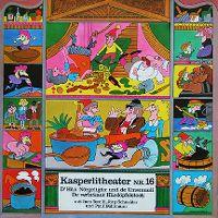 Cover Hörspiel / Kasperlitheater - 16 - A: D'Häx Nörgeligäx und de Umemuuli, B: De verbrännt Härdöpfelstock
