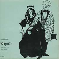 Cover Hörspiel / Maria Becker - Gottfried Keller: Kapitän