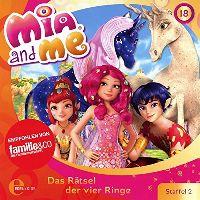 Cover Hörspiel / Mia And Me - 18. Das Rätsel der vier Ringe