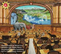Cover Hörspiel / Roland Zoss - Jimmy-Flitz - e Muus im Bundeshuus