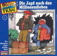 Cover Hörspiel / TKKG - 001. Die Jagd nach den Millionendieben