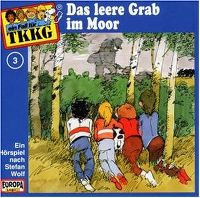 Cover Hörspiel / TKKG - 003. Das leere Grab im Moor