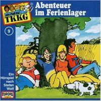 Cover Hörspiel / TKKG - 009. Abenteuer im Ferienlager