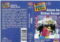 Cover Hörspiel / TKKG - 010. Alarm im Zirkus Sarani