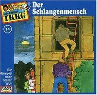 Cover Hörspiel / TKKG - 014. Der Schlangenmensch