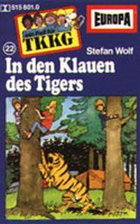 Cover Hörspiel / TKKG - 022. In den Klauen des Tigers