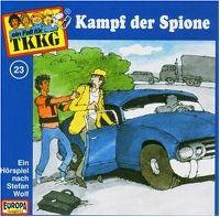 Cover Hörspiel / TKKG - 023. Kampf der Spione