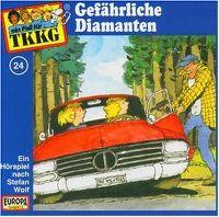 Cover Hörspiel / TKKG - 024. Gefährliche Diamanten