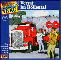 Cover Hörspiel / TKKG - 028. Verrat im Höllental