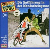 Cover Hörspiel / TKKG - 031. Die Entführung in der Mondscheingasse