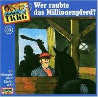 Cover Hörspiel / TKKG - 033. Wer raubte das Millionenpferd?