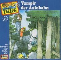 Cover Hörspiel / TKKG - 034. Vampir der Autobahn