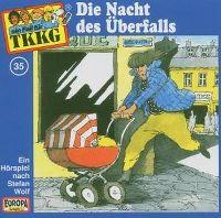 Cover Hörspiel / TKKG - 035. Die Nacht des Überfalls