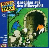 Cover Hörspiel / TKKG - 042. Anschlag auf den Silberpfeil