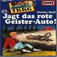 Cover Hörspiel / TKKG - 057. Jagt das rote Geister-Auto!